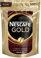 Кофе растворимый Nescafe gold кофе растворимый пакет 500 г